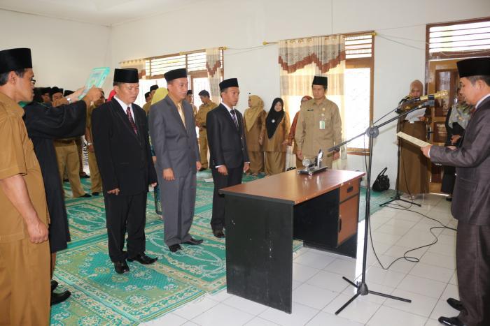 3 Pejabat Fungsional Kemenag Kerinci Dilantik