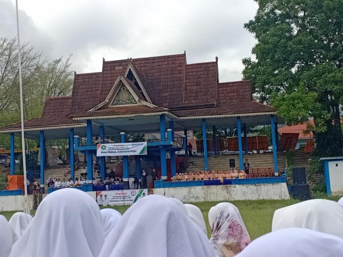 Puncak Dirgahayu HAB Ke 74 di  Kabupaten Kerinci Berlangsung Sukses