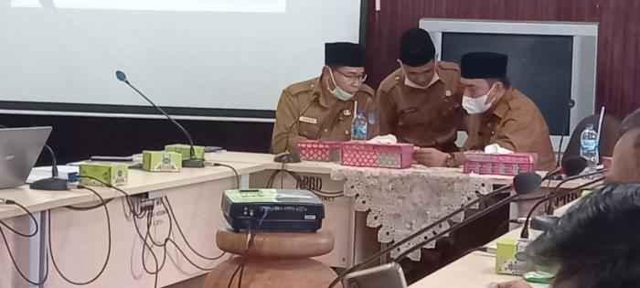 Jelang MTQ, Ka.Kankemenag H. Pahrizal Hadiri Rapat Persiapan