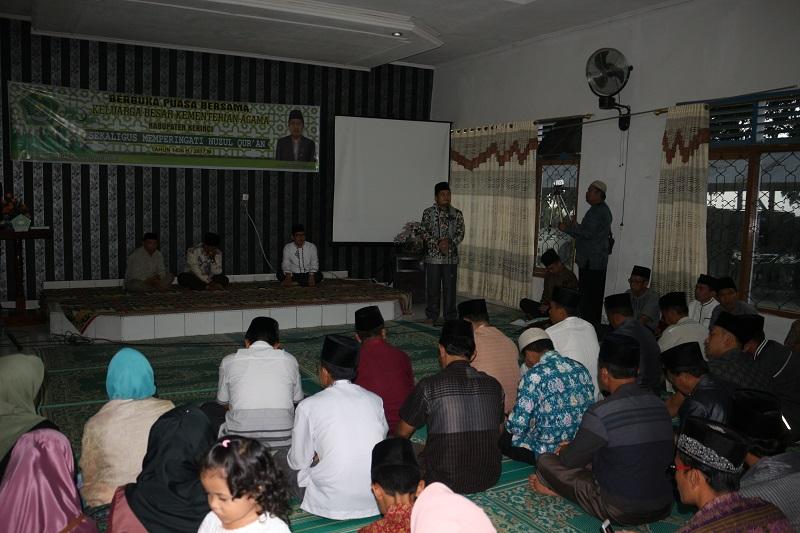 Arahan Kakankemenag pada peringatan Nuzul Qur'an