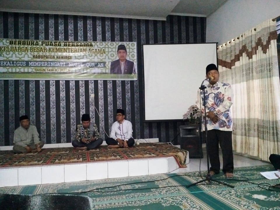 Tausiyah Nuzul Qur'an 1438 H / 2017 M yang di sampaikan oleh